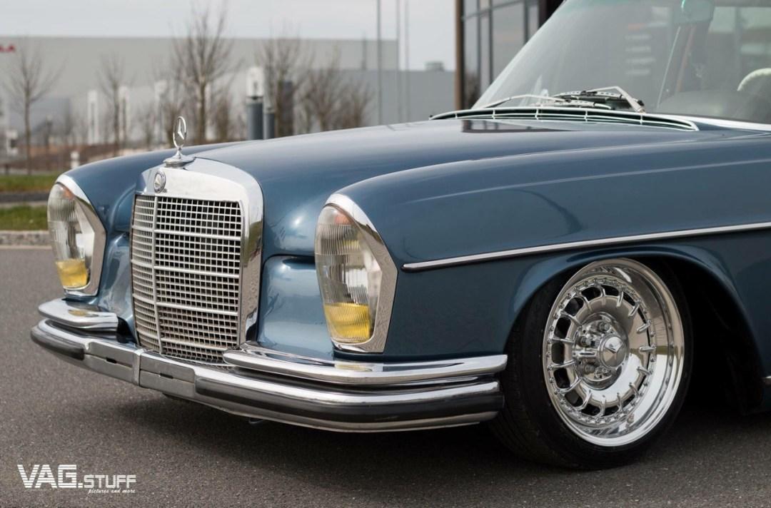 Bagged Mercedes 280SE... Barock ou AMG ? 25