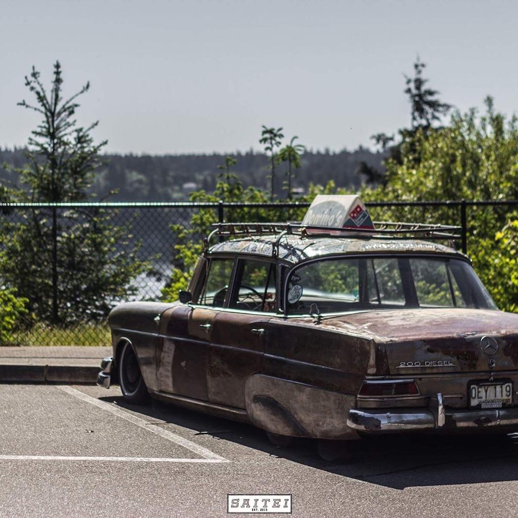 """'67 Static Mercedes 200d """"Hardtail Sally"""" - Où est passé l'antirouille ?! 15"""