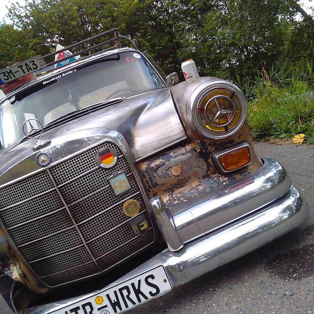 """'67 Static Mercedes 200d """"Hardtail Sally"""" - Où est passé l'antirouille ?! 13"""