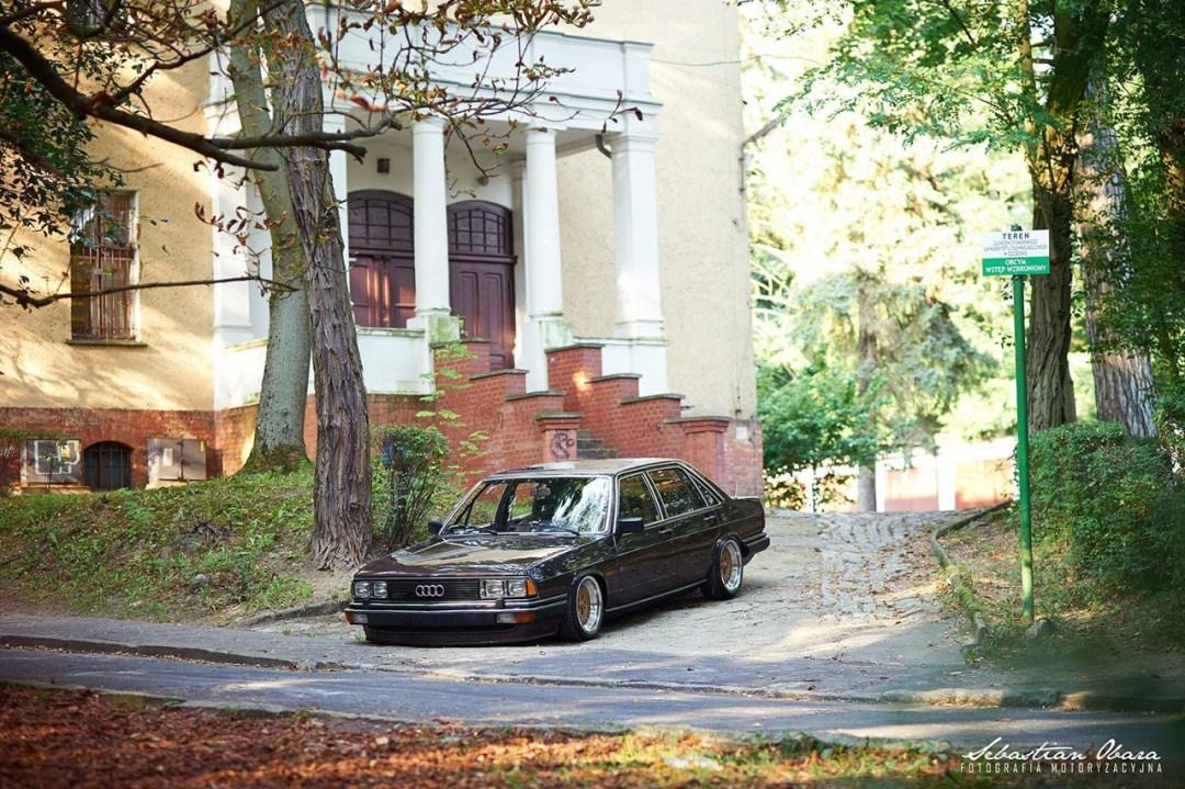 Slammed Audi 200 5T - En coussin d'air sur du BBS ! 37