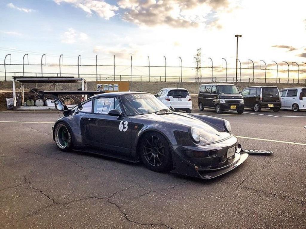 Porsche 964 RWB - Time Attack à Tsukuba 14