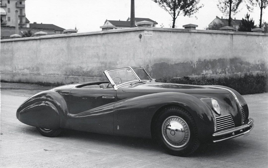 Alfa Romeo Tipo 256 Cabriolet Sportivo... Unique ! 40