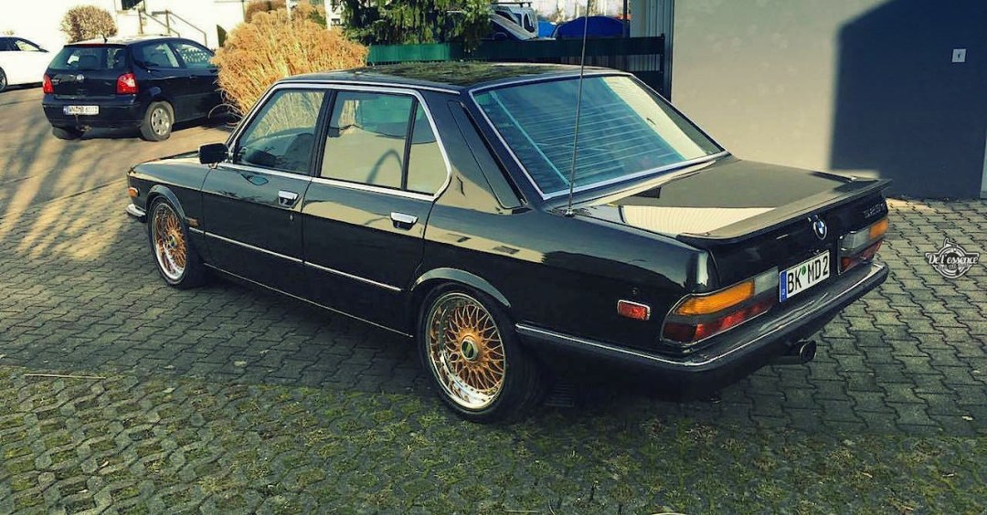 BMW 525E E28 BBS - Basic Static ! 27