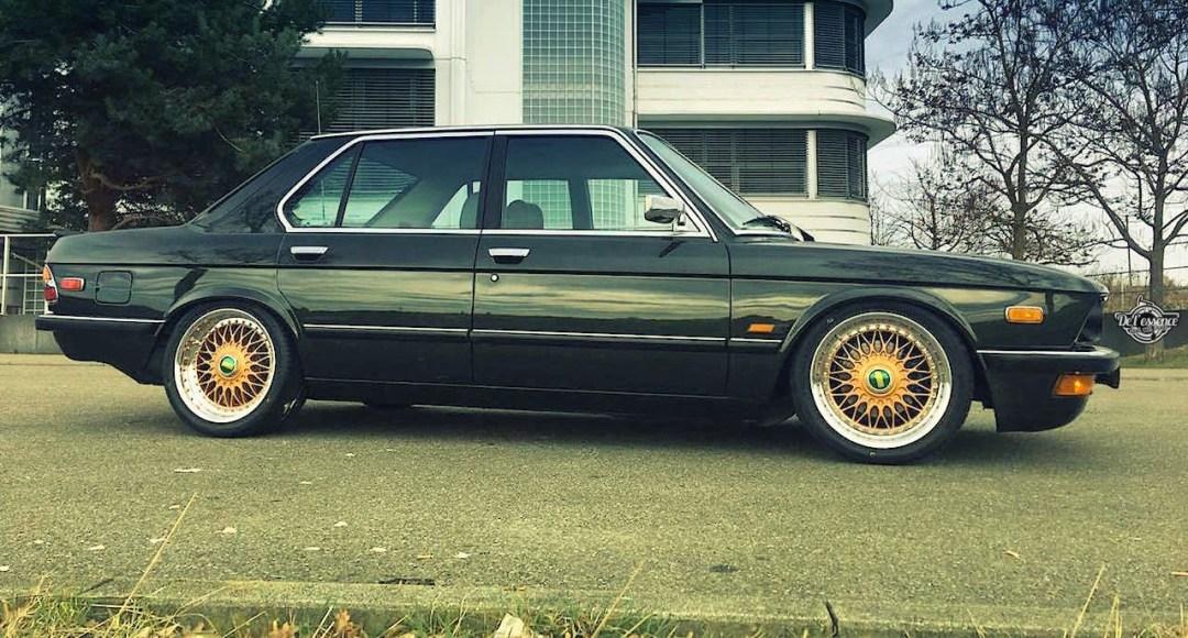BMW 525E E28 BBS - Basic Static ! 25