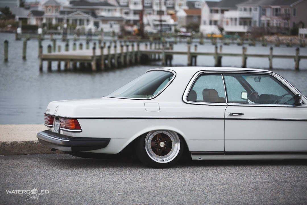 Mercedes 280 CE bagged... My classic is fantastic ! 31