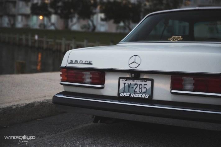 DLEDMV - Bagged W123 Mercedes 280 CE Coupé - 10