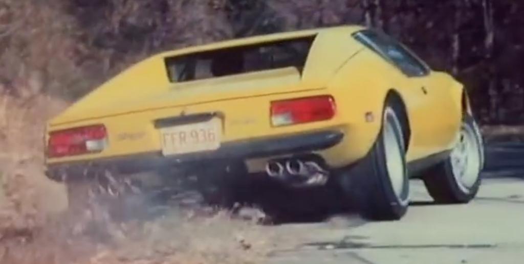 """Challenge"" : De Tomaso Pantera vs Chevrolet Corvette... 6"