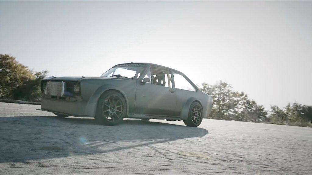 """Hillclimb Monsters - Ford Escort Mk2 """"Insérez ici vos clichés sur les Grecs"""" 15"""