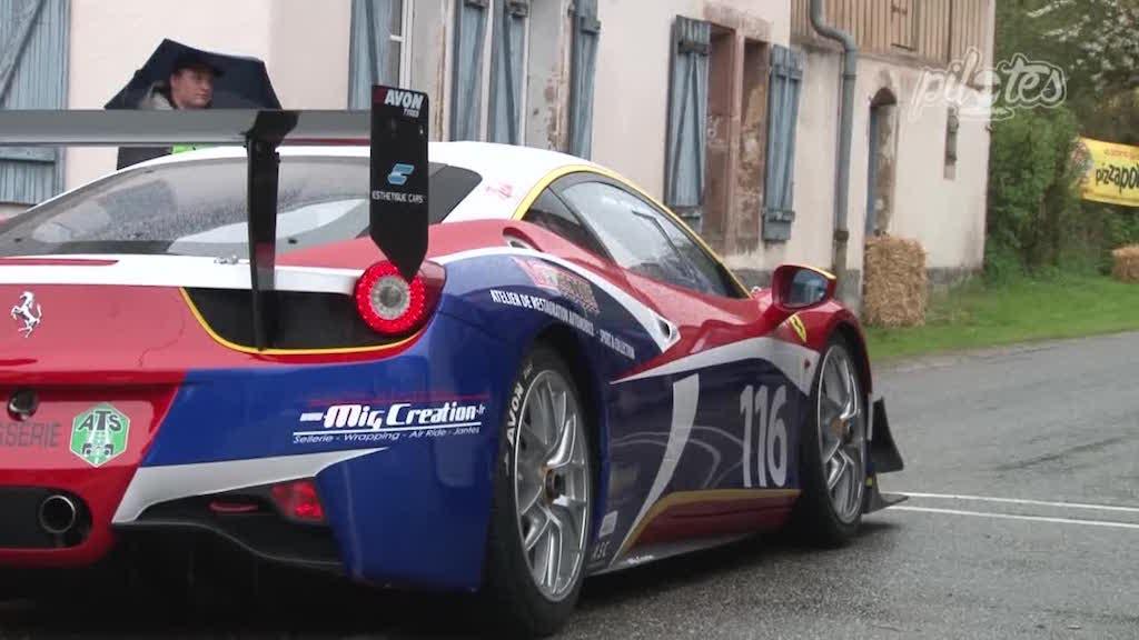 HillClimb Monster : Ferrari 458 Challenge Evo en dolby ! 10