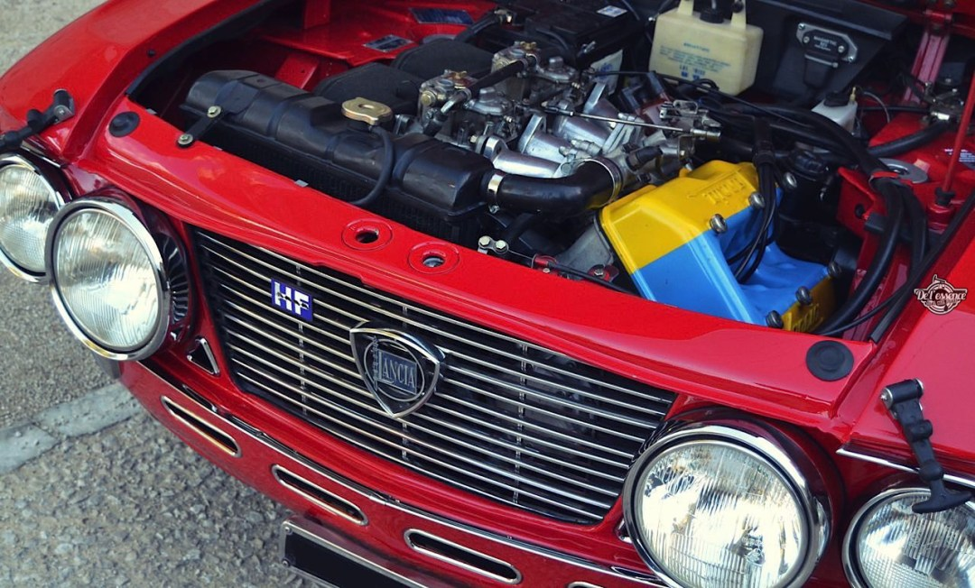 Lancia Fulvia HF Fanalone - Belissima leggenda ! 121