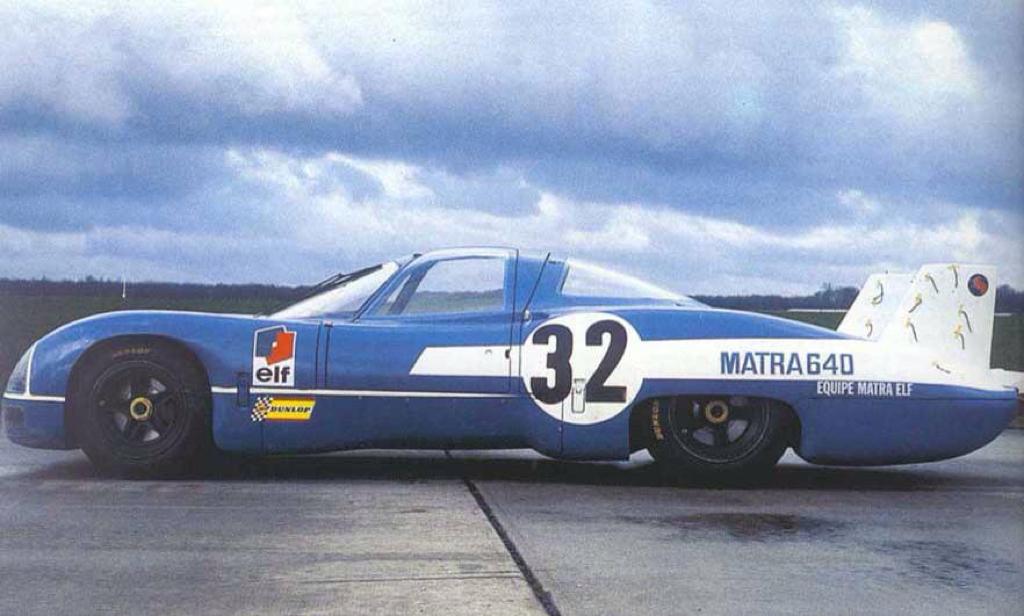 Engine sound : Matra MS de la 630 à la 670... Un V12 dans les Hunaudières ! 78
