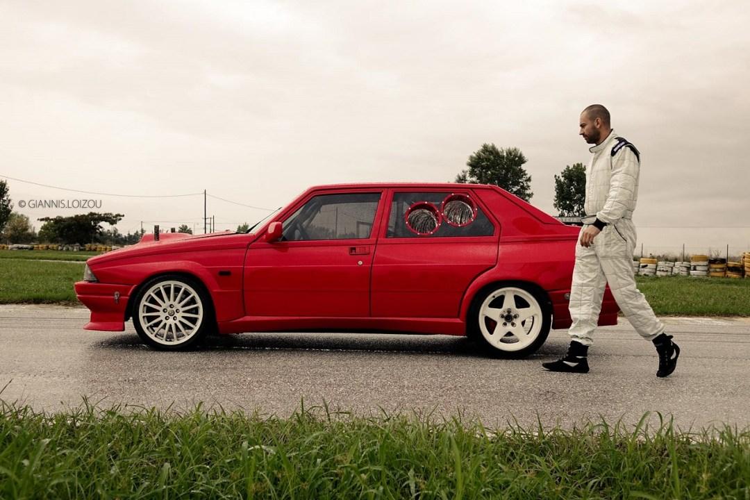 Alfa 75 V6 Biturbo - Ah ça drifte aussi ?! 2