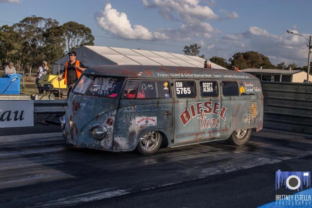 VW combi by Alder Outlaws - Crazy wheels ! 23