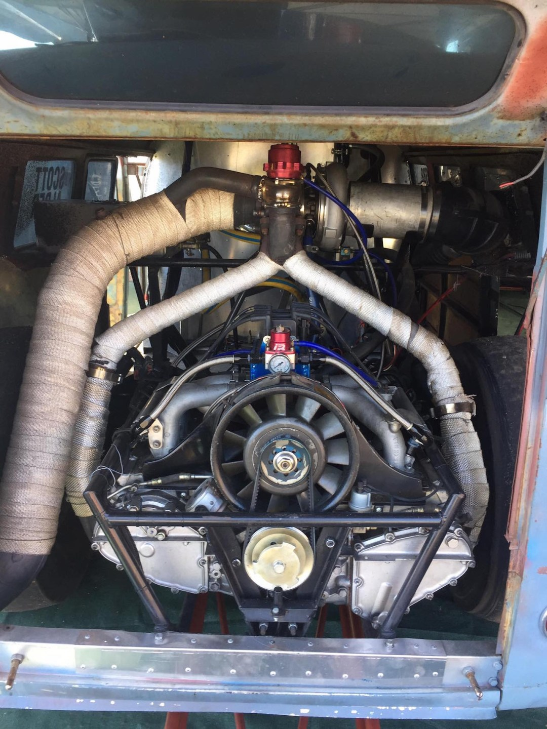 VW combi by Alder Outlaws - Crazy wheels ! 19