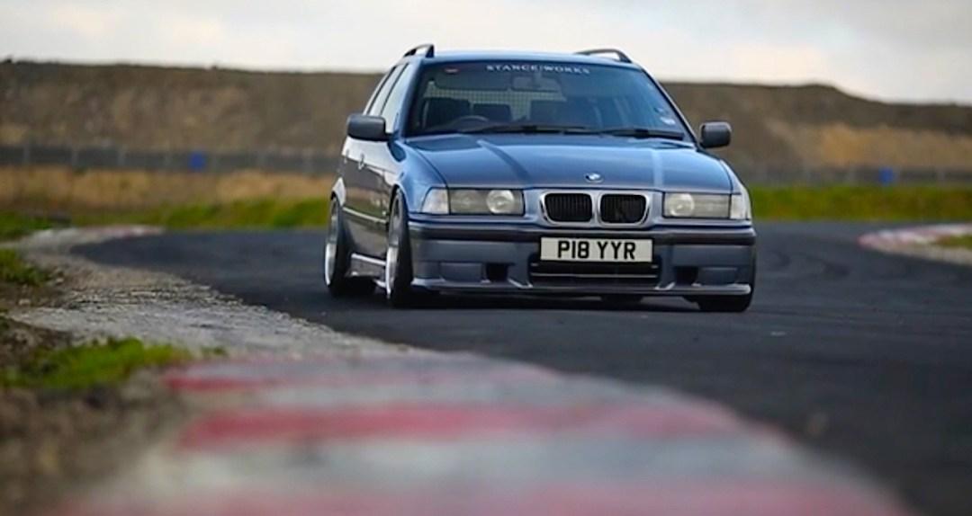 Duo de BMW E36 touring - Break down ! 13