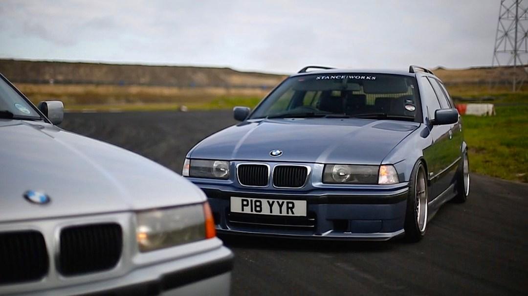 Duo de BMW E36 touring - Break down ! 15