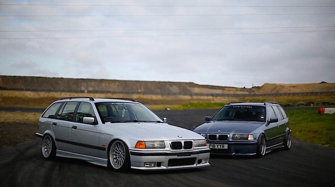 Duo de BMW E36 touring - Break down ! 17