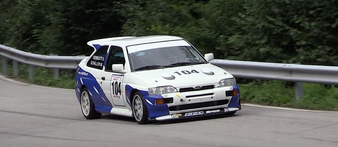 Engine sound : Ford Escort Cosworth... Balade en Italie ! 3