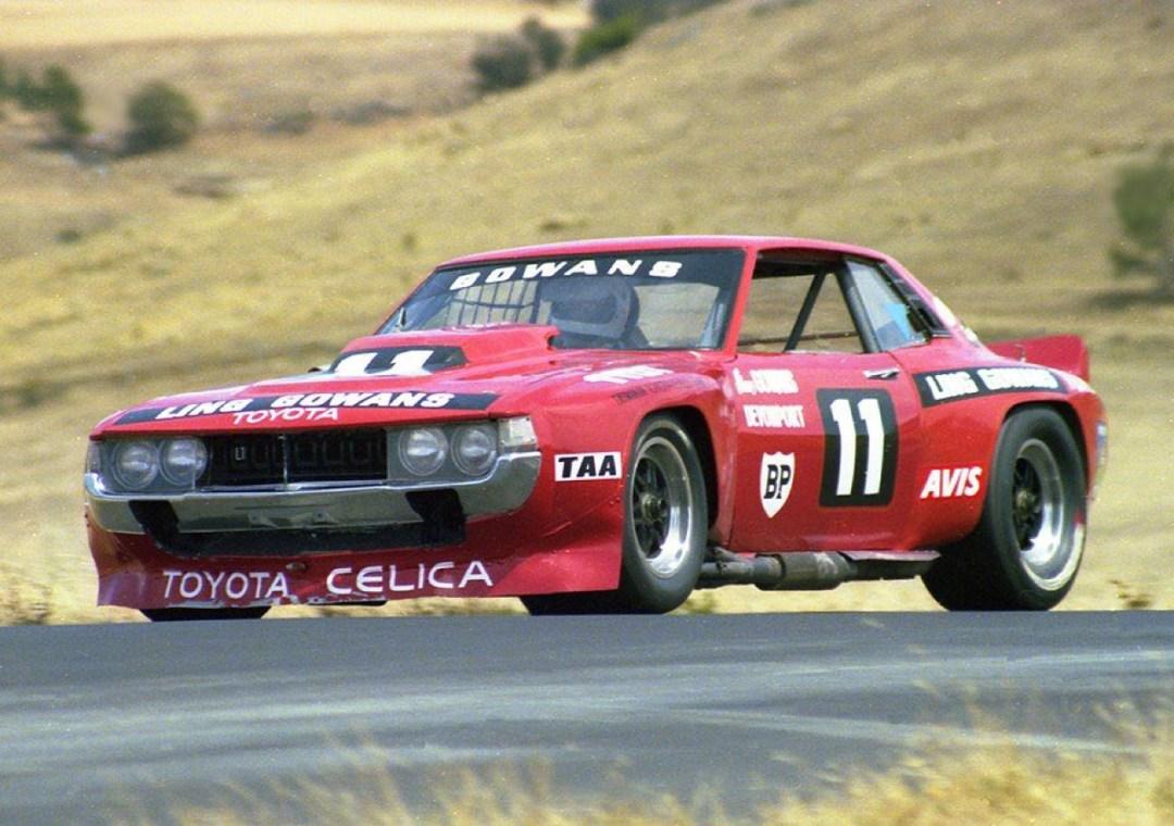 Bruce Gowans Toyota Celica - Avec un V8 Repco 31