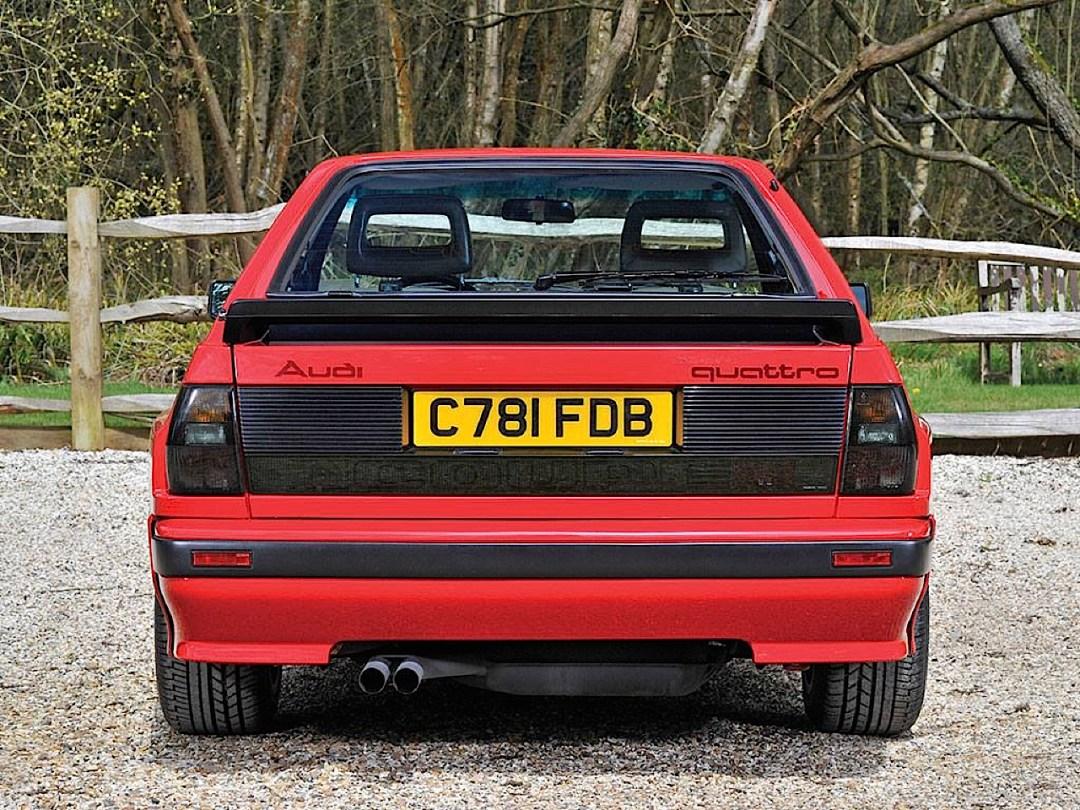 Audi Quattro Sport - Châssis court, turbo et muscu ! 93