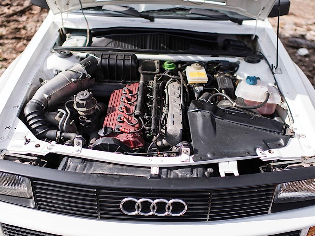 Audi Quattro Sport - Châssis court, turbo et muscu ! 106