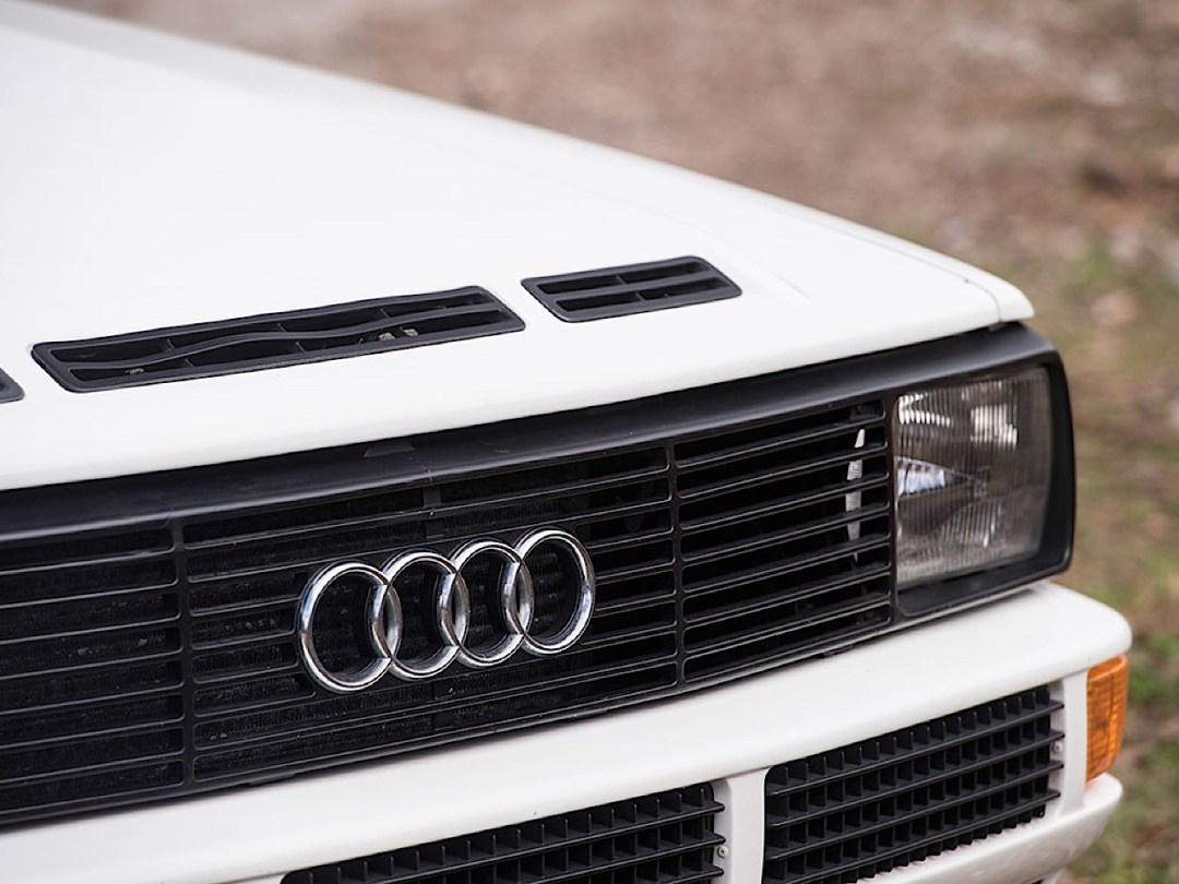 Audi Quattro Sport - Châssis court, turbo et muscu ! 101