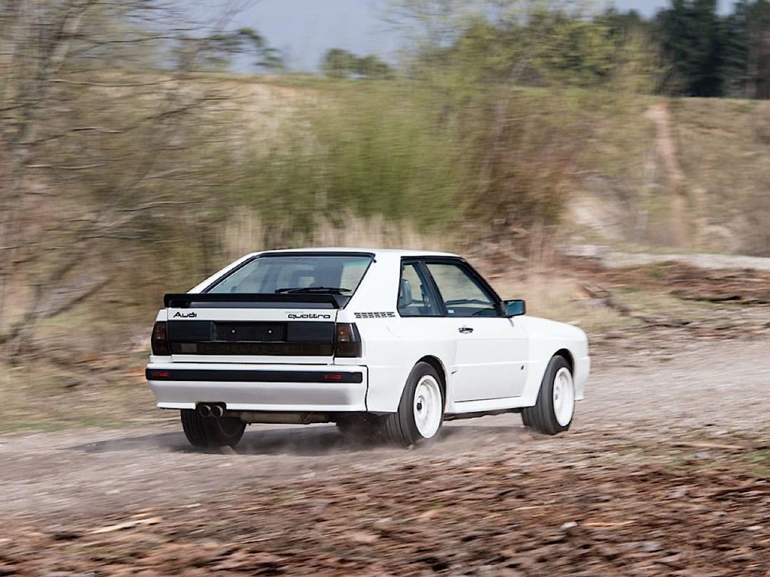Audi Quattro Sport - Châssis court, turbo et muscu ! 89
