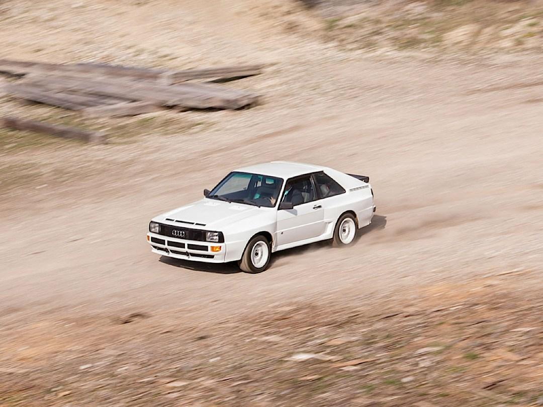 Audi Quattro Sport - Châssis court, turbo et muscu ! 86