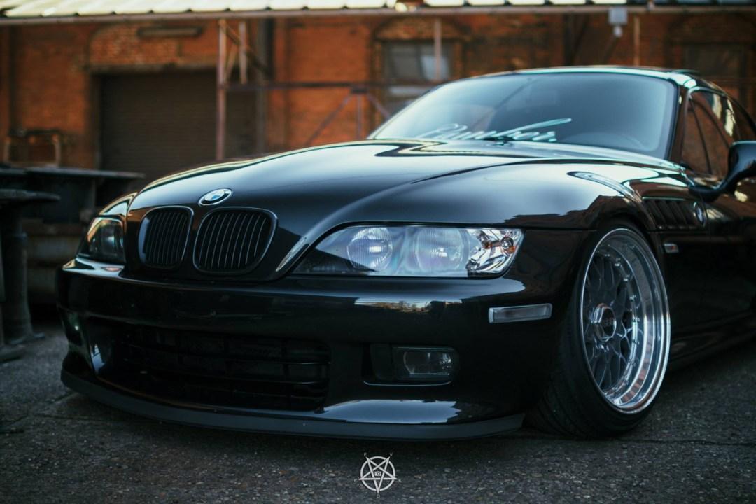 Slammed BMW Z3M coupé... Static & BBS 24