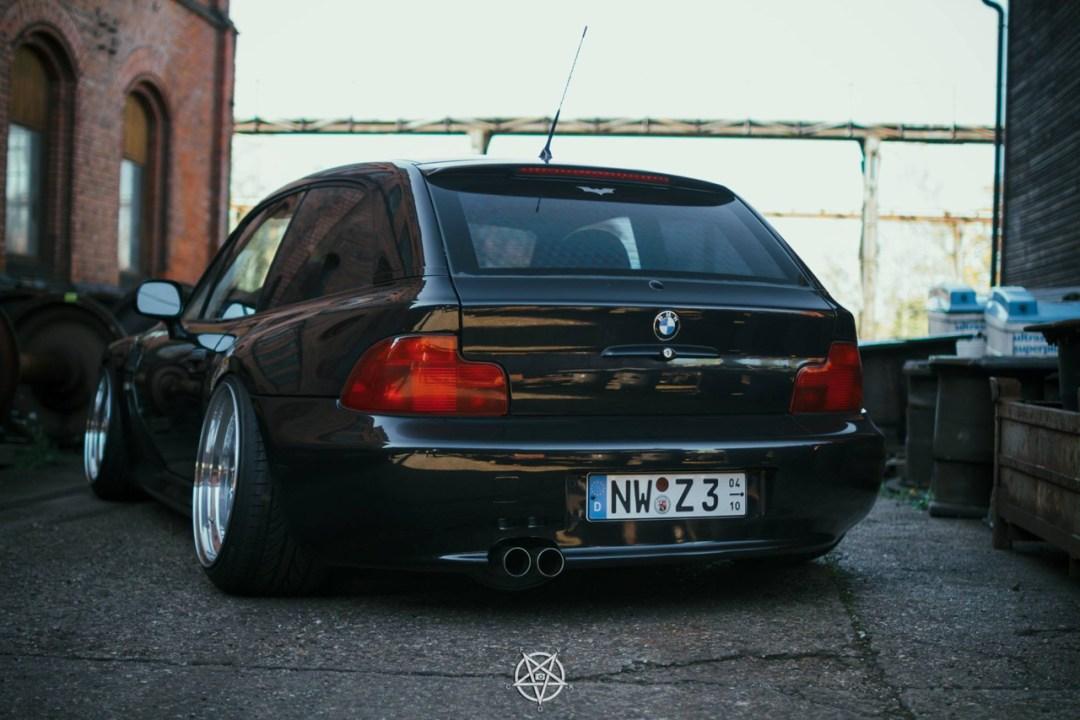 Slammed BMW Z3M coupé... Static & BBS 23