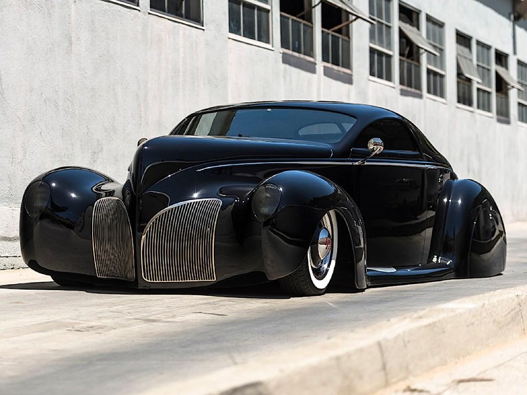 """'39 Lincoln Zephyr """"Scrape"""" - Même le custom a ses légendes ! 64"""