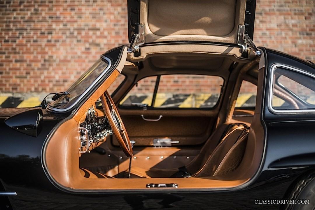 Mercedes 300 SL outlaw... en top chop et side pipe ! 91