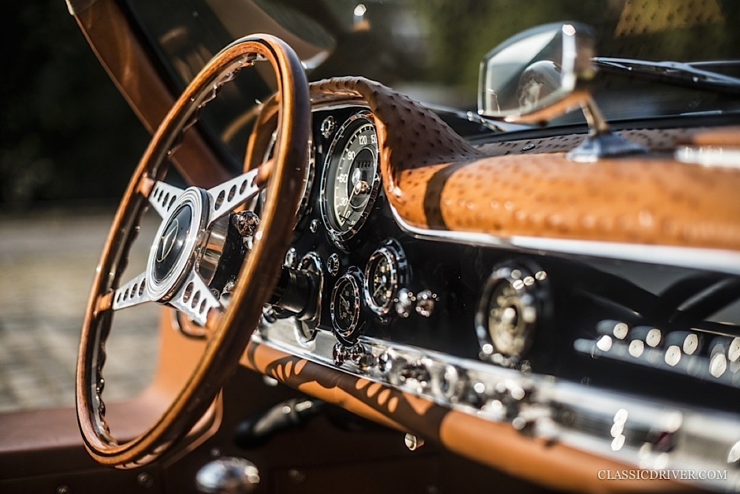 Mercedes 300 SL outlaw... en top chop et side pipe ! 103