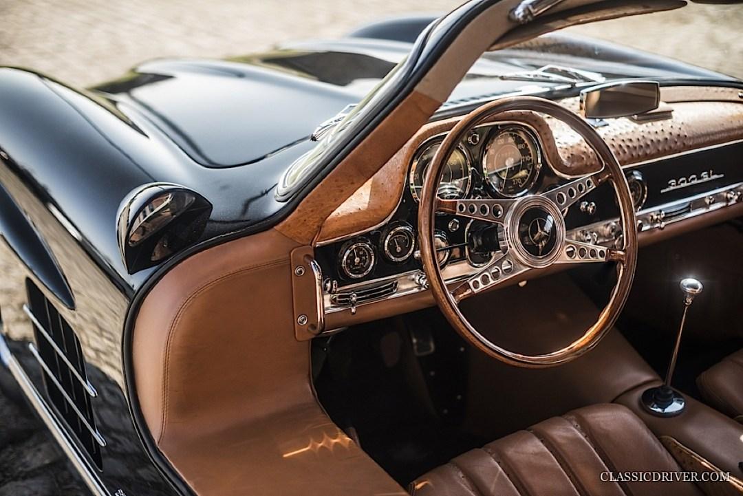 Mercedes 300 SL outlaw... en top chop et side pipe ! 100