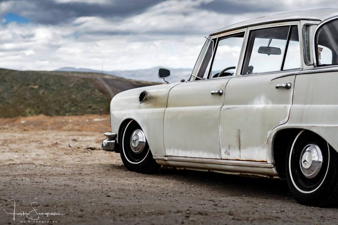 Mercedes W111 Sleeper... The Benzilla ! 25