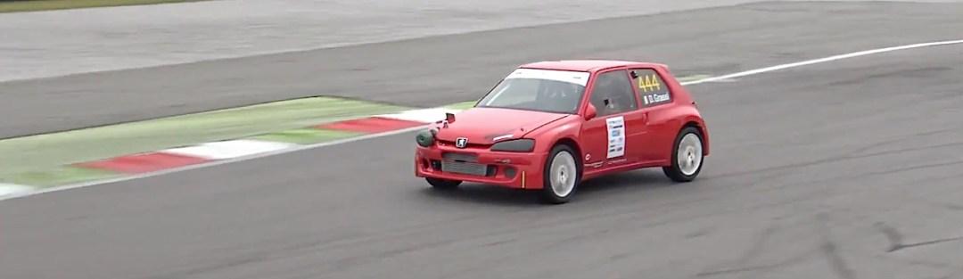 Peugeot 106 S16 Turbo Time Attack... Avec 500 ch sous l'capot ! 25