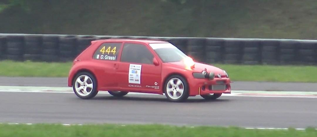 Peugeot 106 S16 Turbo Time Attack... Avec 500 ch sous l'capot ! 21