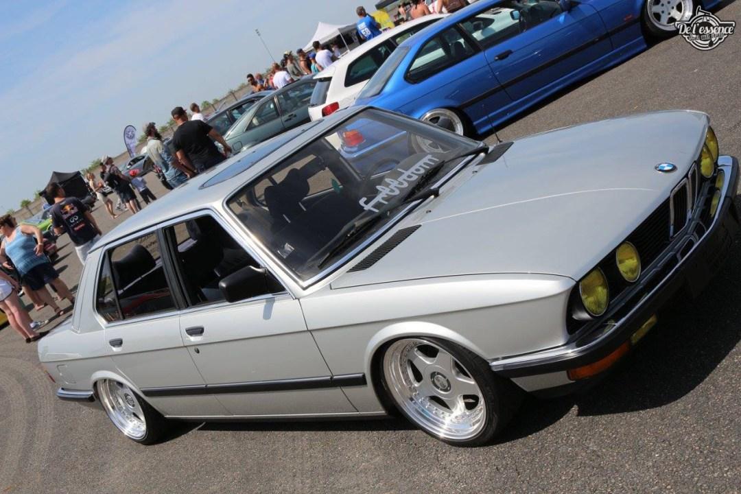 Bagged BMW E28 520i... Low & Flow ! 40