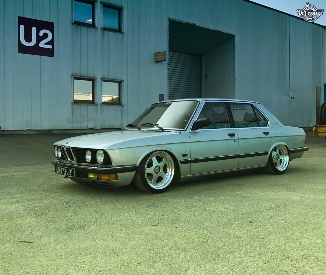 Bagged BMW E28 520i... Low & Flow ! 51