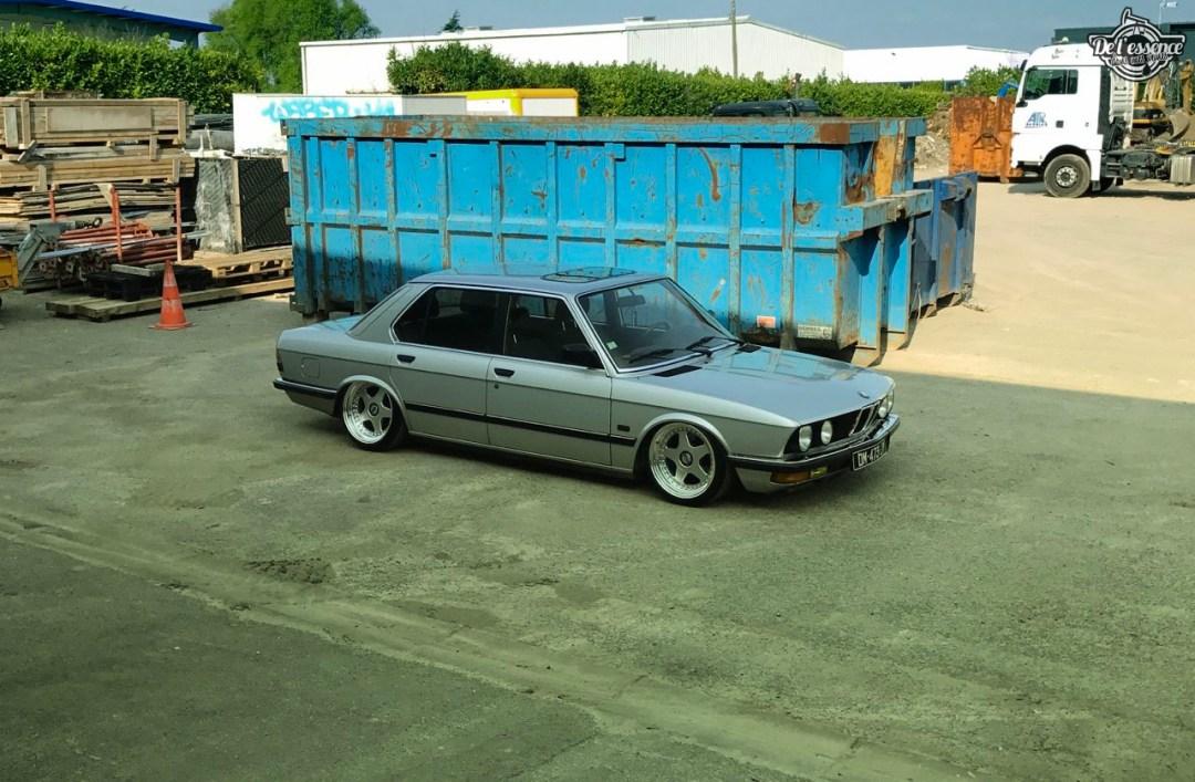 Bagged BMW E28 520i... Low & Flow ! 50