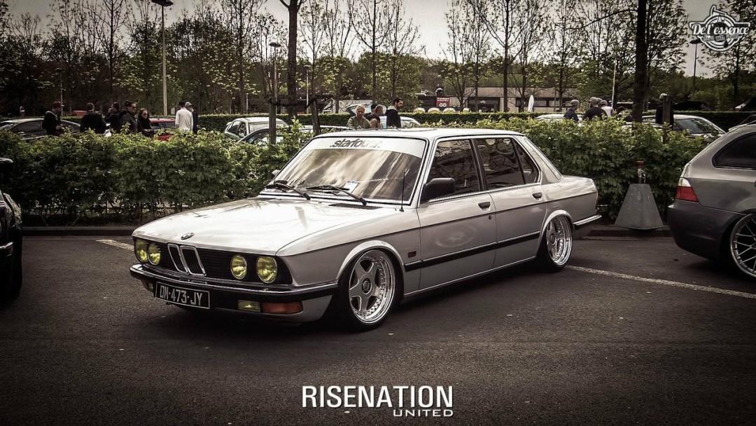 Bagged BMW E28 520i... Low & Flow ! 45