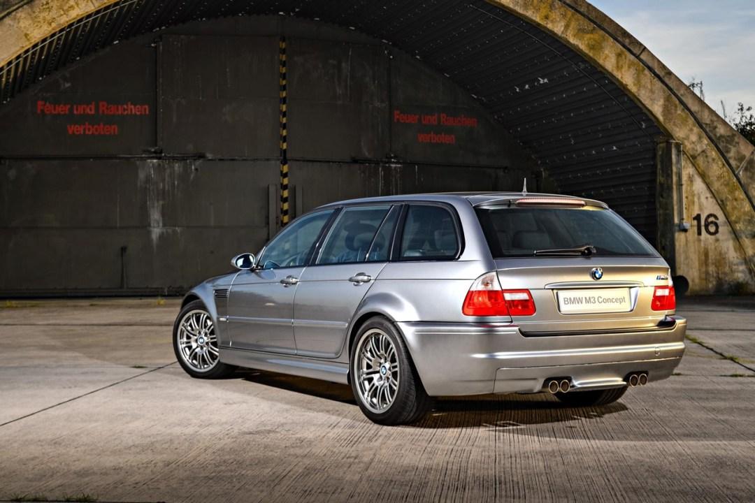 BMW M3 E46... touring ! Oui, elle existe... 23