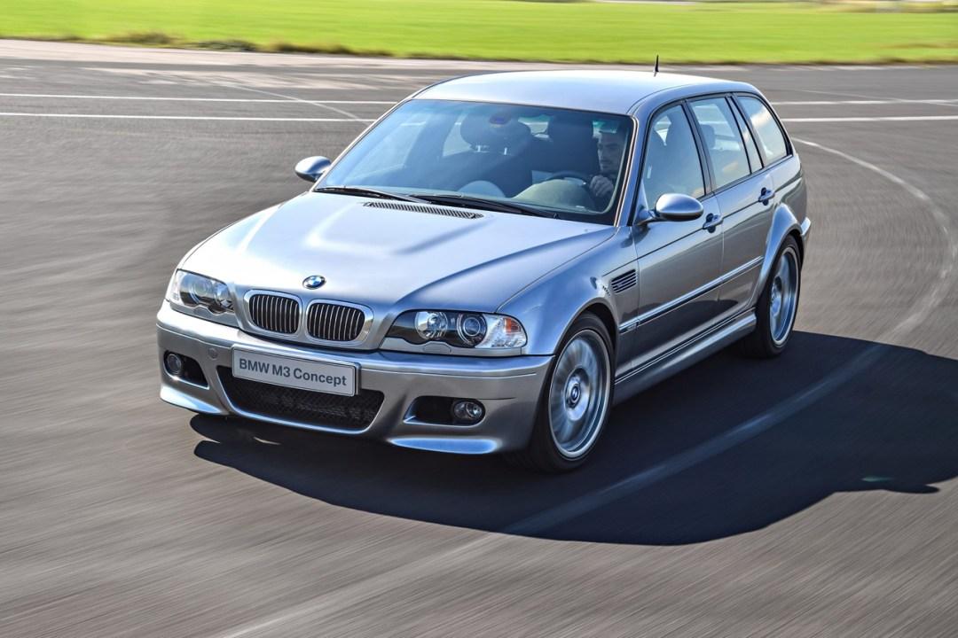 BMW M3 E46... touring ! Oui, elle existe... 24