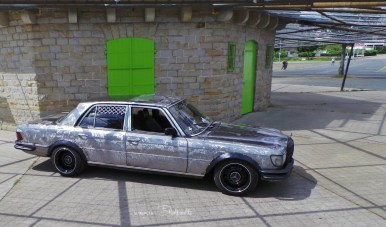 DLEDMV - Custom Mercedes W116 Sleeper- 08