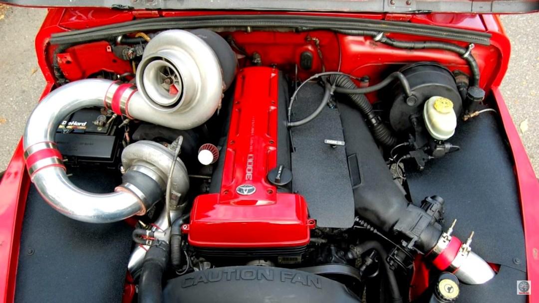 Jeep Wrangler swap 2JZ - 2 cylindres en moins, 2 turbos en plus ! 29