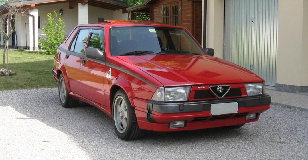 Alfa 75 Turbo America : Sale caractère ! 26