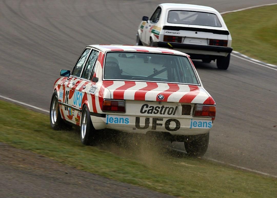 Engine Sound : Nick Padmore's BMW 530i - Tempête à Goodwood ! 11