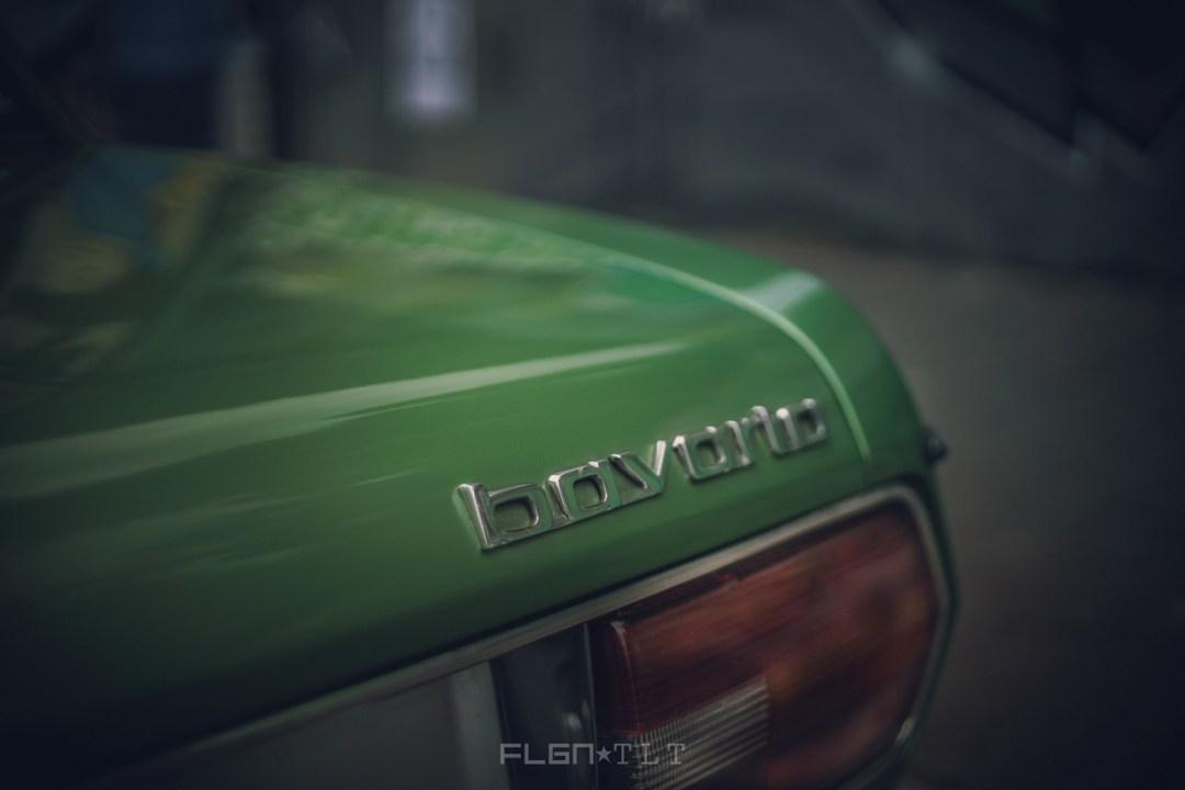 Slammed BMW E3 Bavaria - Allez, on se met un peu au vert ! 22