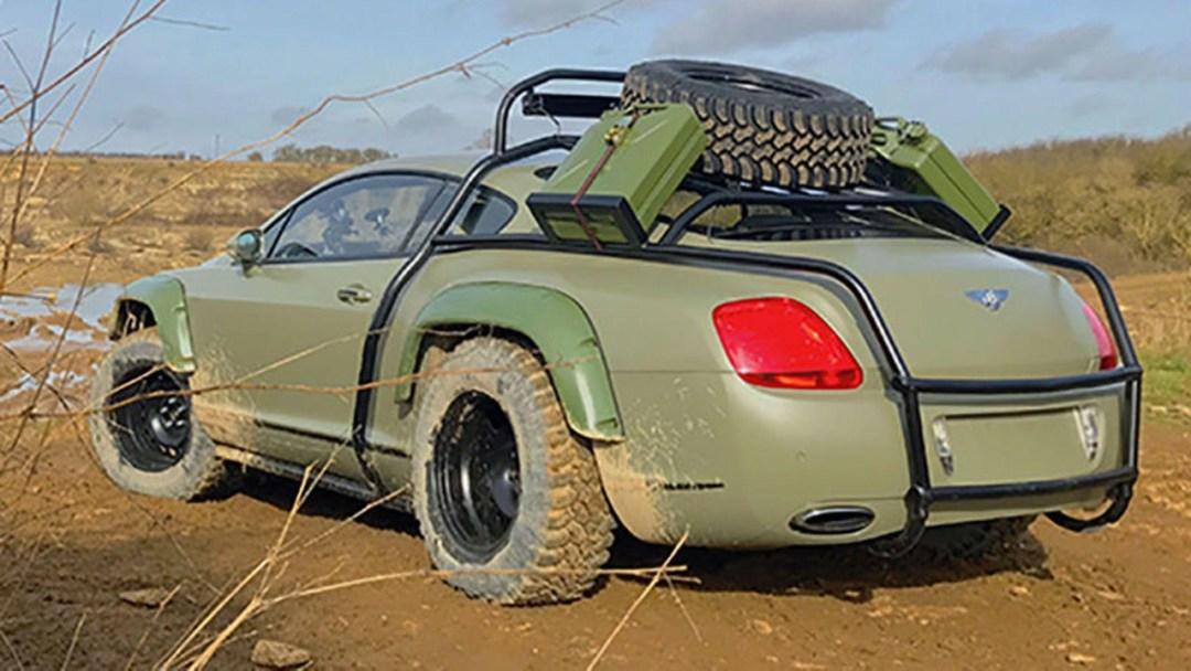 Du Zombie Crush en Bentley Continental GT... 22