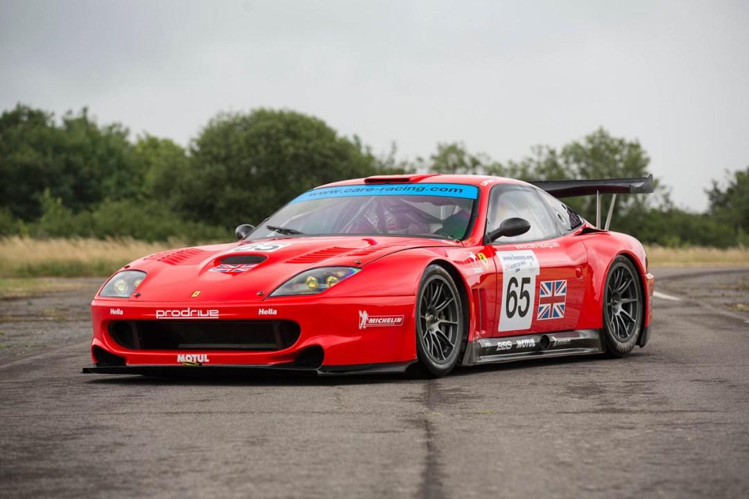 La Ferrari 550 Maranello GTS de Colin McRae... 19